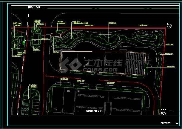 太港区欧美高新技术产业园绿化工程-图1
