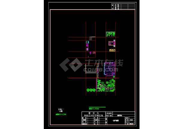 某地区某古典风格3层小别墅设计图带效果图-图1