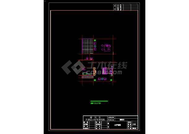 某地区某古典风格3层小别墅设计图带效果图-图3