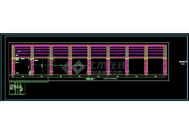 某公园欧风钢构铁艺廊架花架-图1
