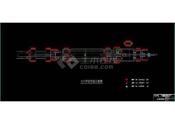 常州淹城古街夜景亮化工程cad设计图-图2
