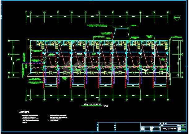 苏州市某商业店铺电气照明cad设计图纸-图3