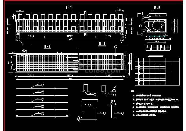 某预应力空心板桥梁结构建筑cad施工设计图纸-图1