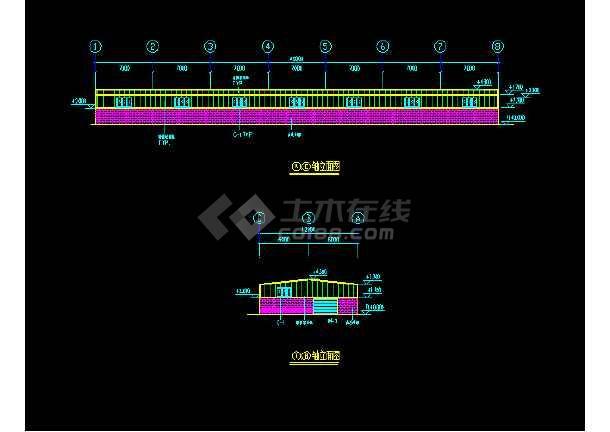 鹏翔A栋厂内增加隔房施工设计方案-图3