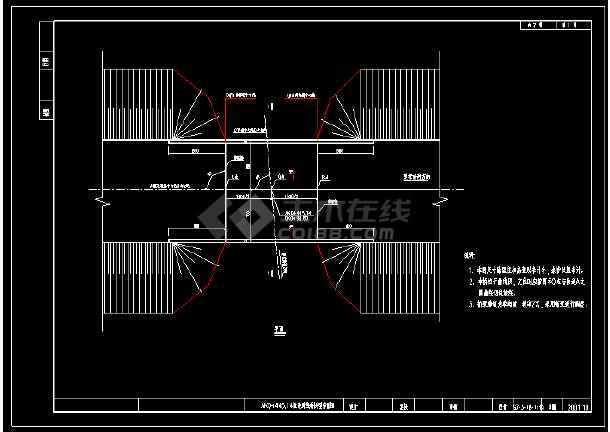 13m跨径桥梁全套CAD设计图-图1