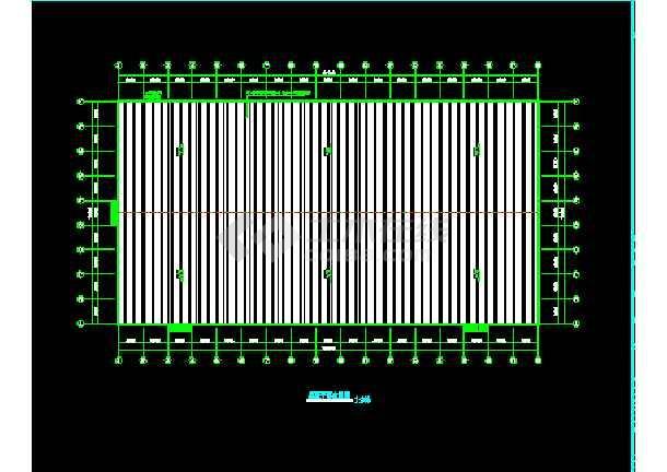 漯河工程54x102米施工结构CAD设计-图3