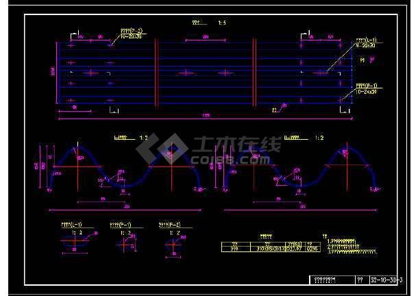 新规范波形梁护栏全套图纸-图2