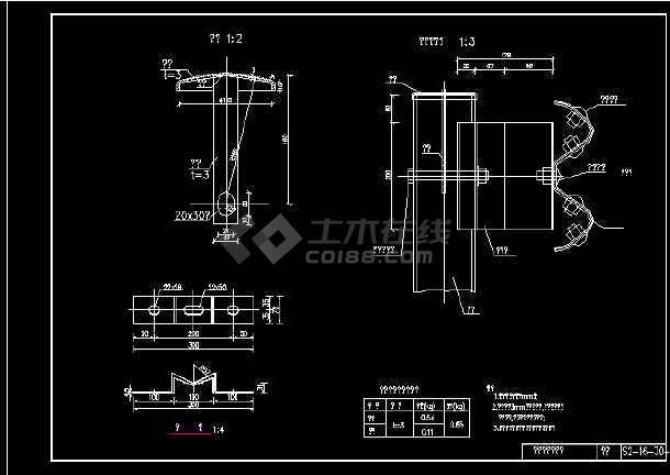 新规范波形梁护栏全套图纸-图3