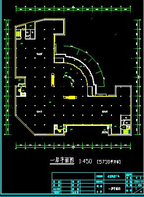 某五层商场设计方案cad平立面图图片2