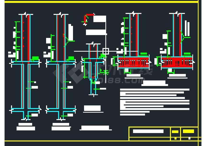 非常完整的常用结构构造图纸集合大全-图1