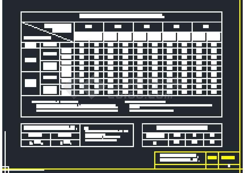 非常完整的常用结构构造图纸集合大全-图3