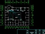 某地网吧电气照明设计与应急照明设计CAD图图片3