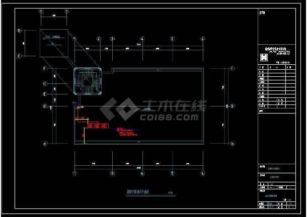 某中学整套暖通设计cad施工方案图(含设计说明)-图3