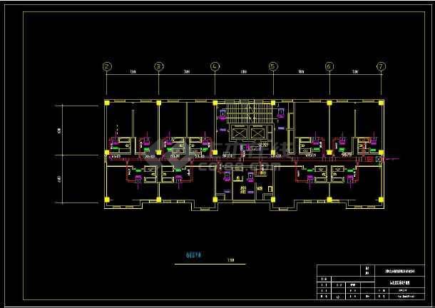 某地商业综合楼暖通空调设计cad施工方案图-图1