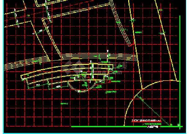 雕塑、休闲、城市广场建筑施工设计图-图1