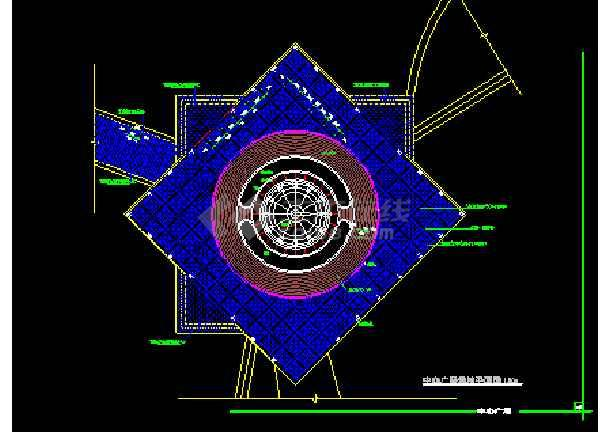 雕塑、休闲、城市广场建筑施工设计图-图3