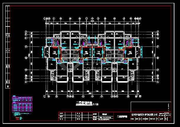 某地别墅建筑暖通空调设计cad施工图-图3