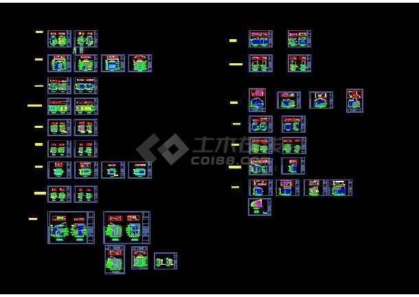 点击查看重庆某科技示范园VIP双层别墅室内装修图第1张大图