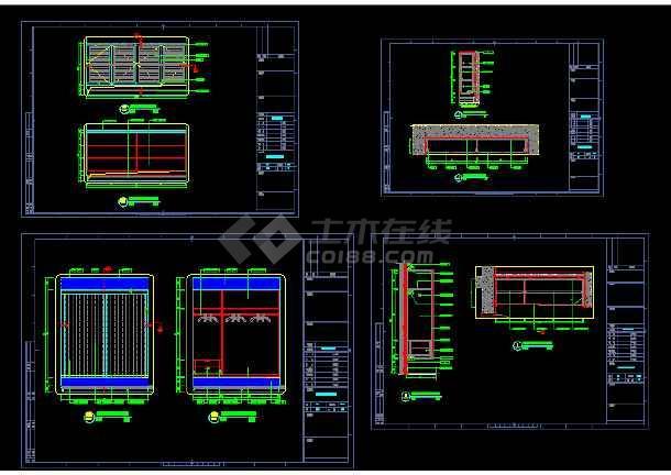 点击查看重庆某科技示范园VIP双层别墅室内装修图第2张大图