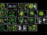 某框混结构私人别墅设计cad全套建筑结构图图片1