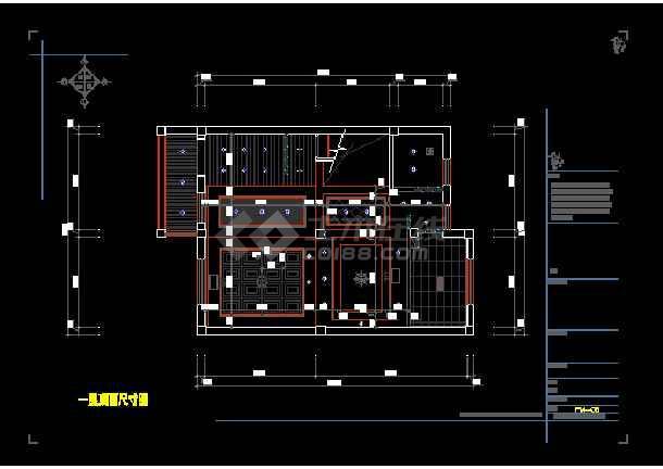 宁波某乡村双层别墅室内装修图含效果图-图二