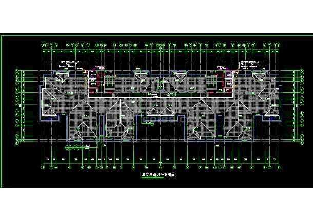 12层一梯四户高层住宅暖通设计图-图3