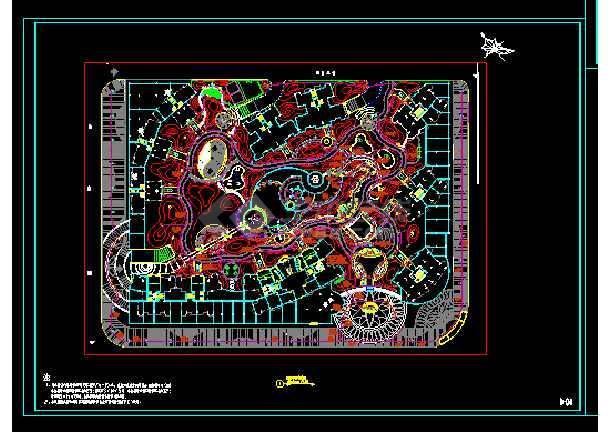 园林景观照明施工灯设计CAD详图-图1