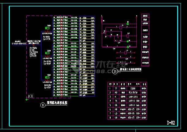 园林景观照明施工灯设计CAD详图-图3
