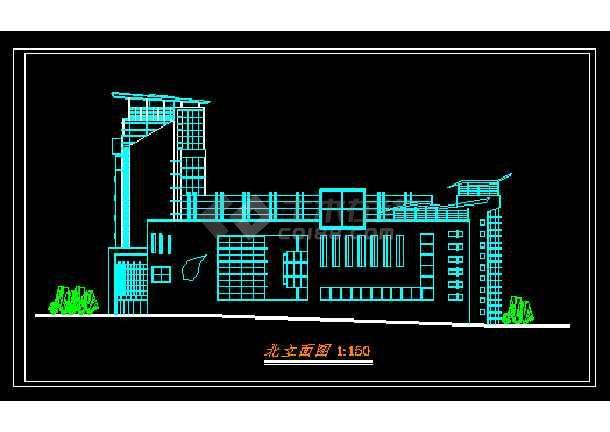 某星级酒店规范方案设计CAD详情图纸-图1