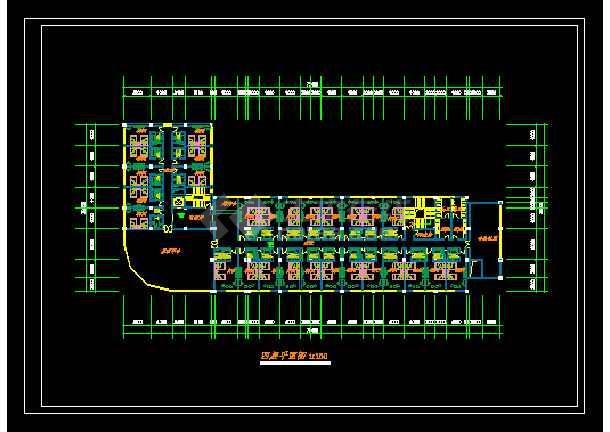 某星级酒店规范方案设计CAD详情图纸-图2