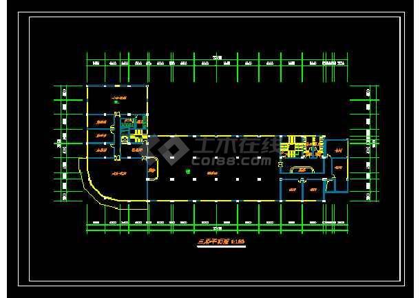 某星级酒店规范方案设计CAD详情图纸-图3