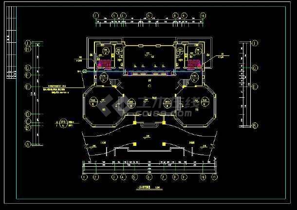 某地多层精品别墅建筑给排水及采暖设计cad施工图(含设计说明)-图2