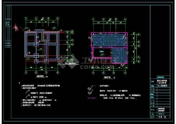 某小区多层住宅别墅建筑电气设计cad施工图(含设计说明)-图3