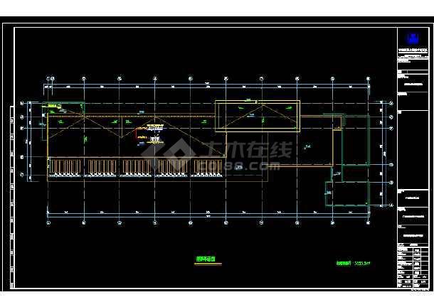 某职业技术学校综合楼暖通cad施工图-图3