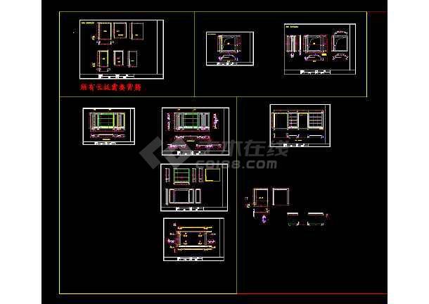 别墅大理石精加工的全套规范生产图纸-图1