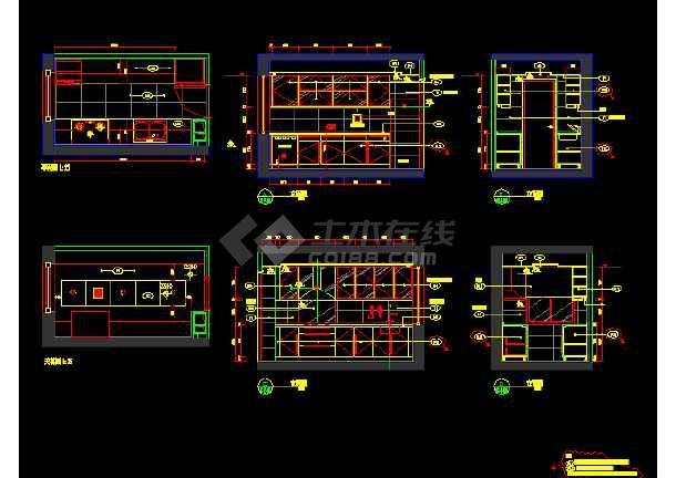 朗琴园10号楼多户型施工图纸(含效果图)-图2