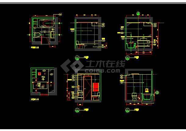 朗琴园10号楼多户型施工图纸(含效果图)-图3