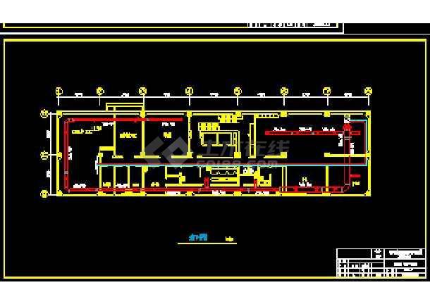 天津某综合楼暖通空调设计cad施工方案图-图2