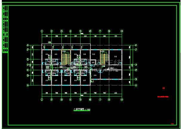 """板桥村村部办公楼及室外工程""""给排水""""设计-图2"""