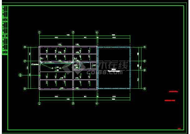 """板桥村村部办公楼及室外工程""""给排水""""设计-图3"""