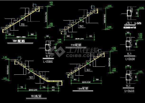 二层别墅建筑施工图纸(含设计说明)-图1