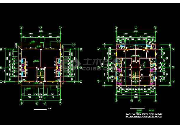 一套简单的标准农民房建筑施工图纸-图1