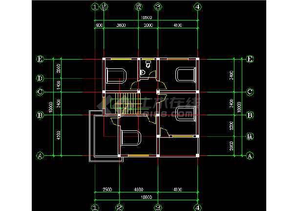某地新农村建设住宅建筑设计方案图纸-图2