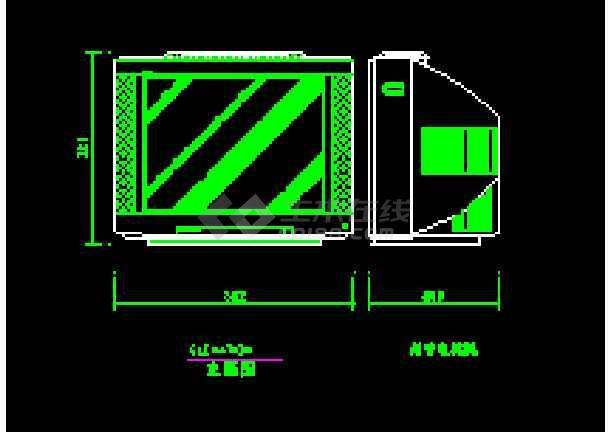 点击查看经典室内装修图块-CAD设计家用电器素材图第2张大图