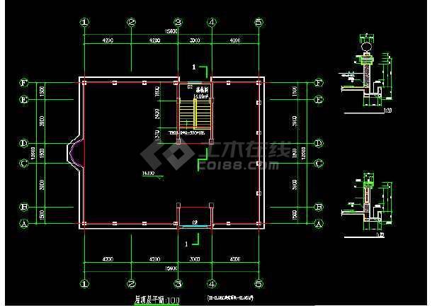 一套比较详细的私人商住宅楼建筑结构图纸-图1