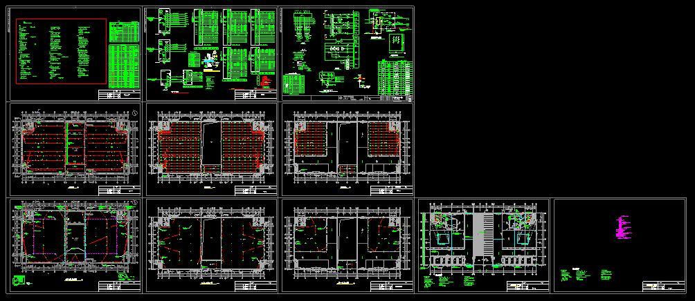 某企业厂房建筑电设计cad施工方案图(含设计说明)图片1