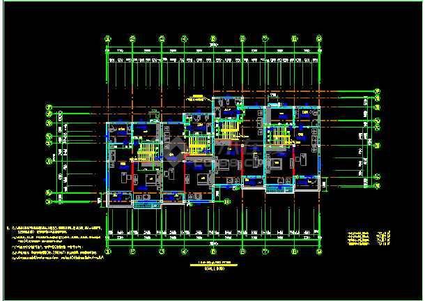 某地方西湖别墅单体全套设计CAD图纸-图2
