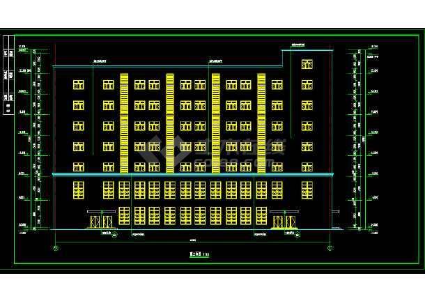 生产车间空调暖通cad施工图纸(含电气)-图1