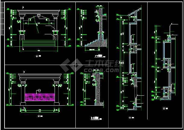 碧水天源别墅建筑结构图纸(含设计说明)-图1