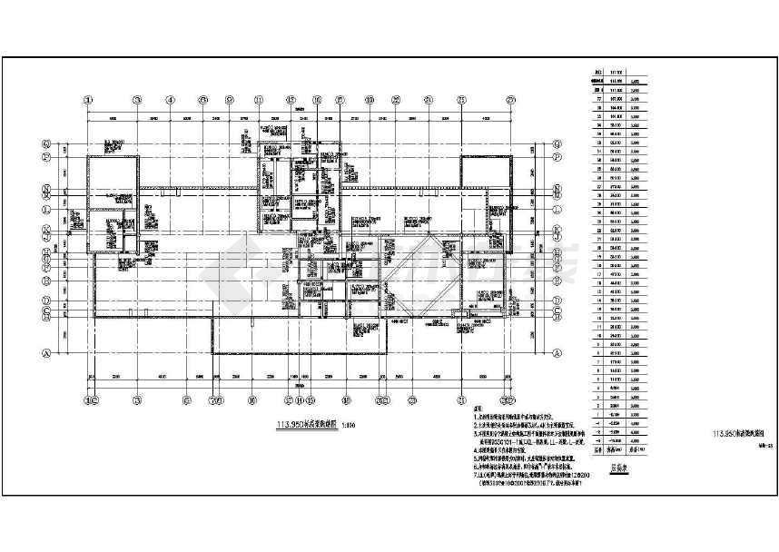 某地大型超高层住宅全套结构施工图纸-图2